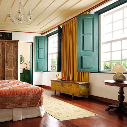 Room Ormuz at La Villa Bahia, Pelourinho, Salvador de Bahia 2009