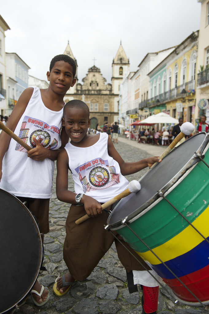 bahia - olodum drummers - salvador