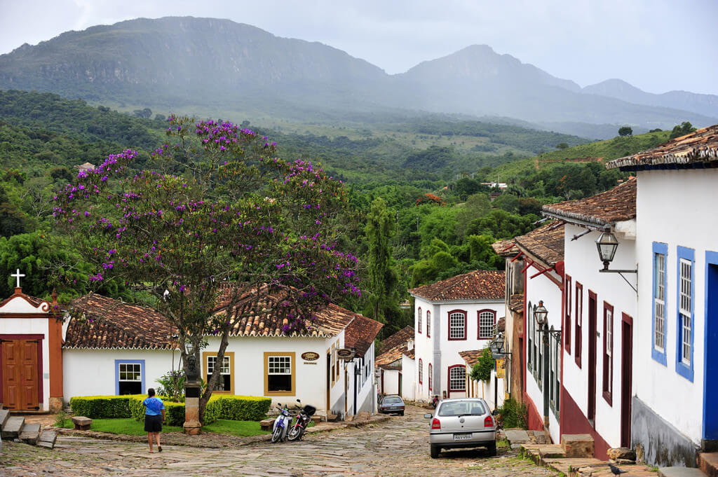 minas gerais - tiradentes - historic city