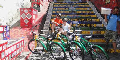 Biking Through Rio